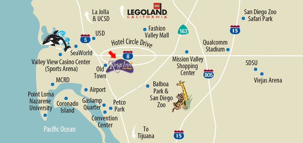 Fashion Valley Mall San Diego Map.Waffle Spot Kings Inn San Diego